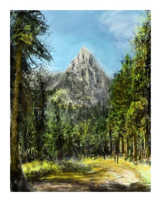 Великолепные пейзажи Джона Мортимера 5