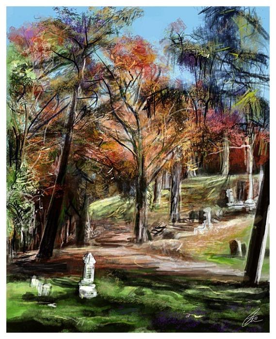 Великолепные пейзажи Джона Мортимера 19