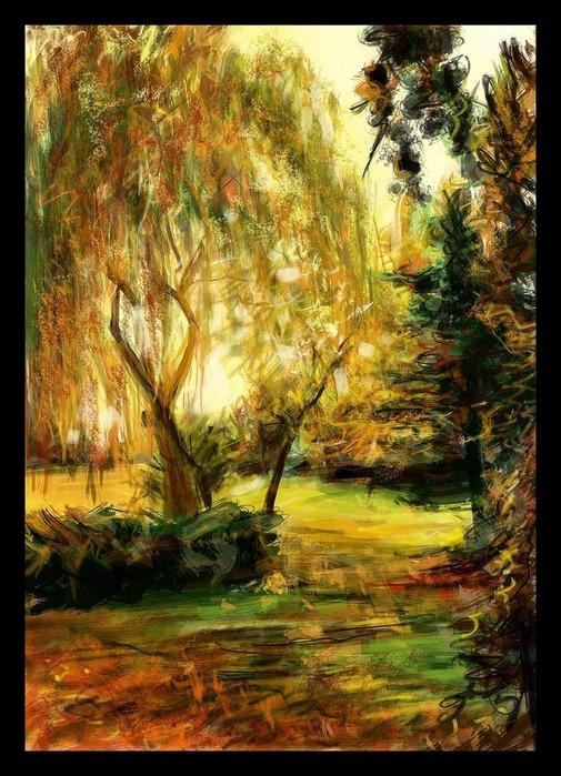 Великолепные пейзажи Джона Мортимера 24