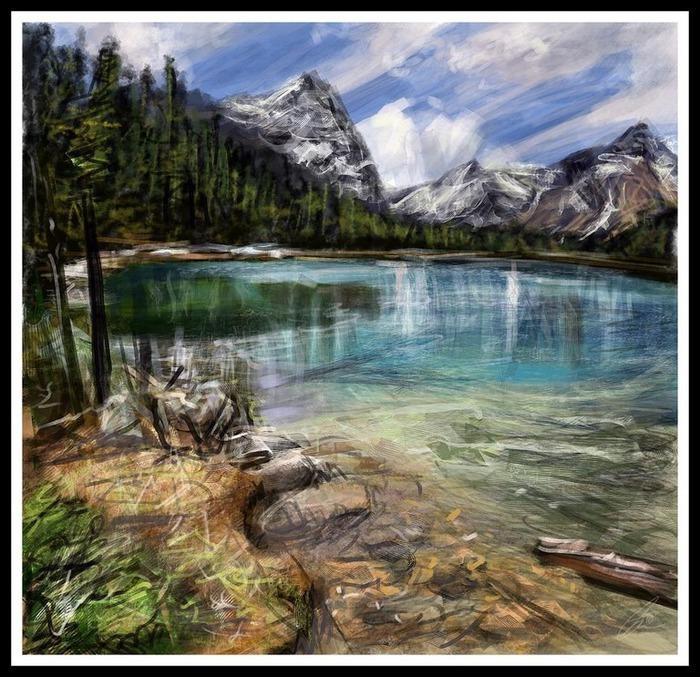 Великолепные пейзажи Джона Мортимера 29