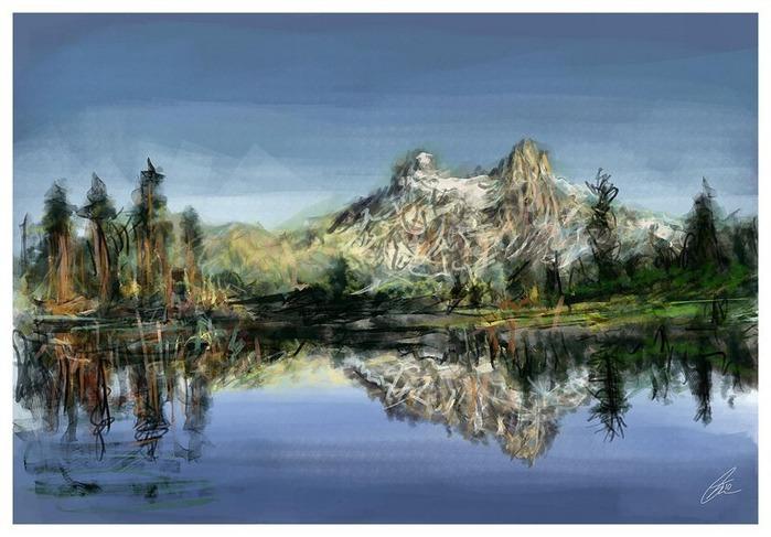 Великолепные пейзажи Джона Мортимера 33