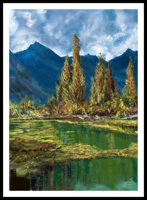 Великолепные пейзажи Джона Мортимера 154