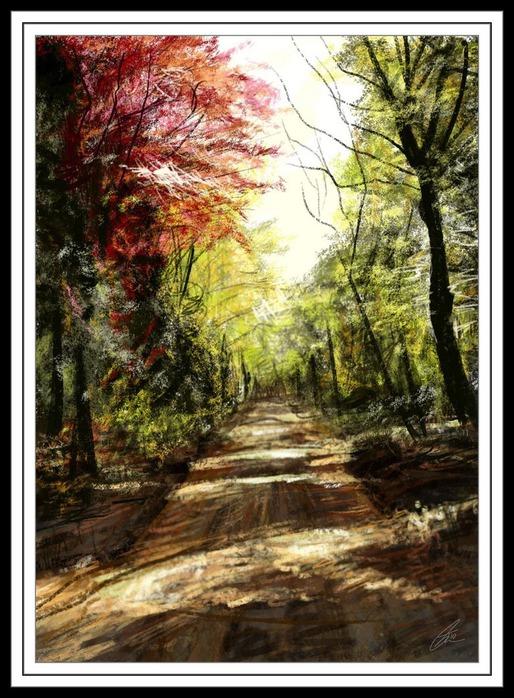 Великолепные пейзажи Джона Мортимера 157