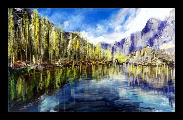 Великолепные пейзажи Джона Мортимера 160