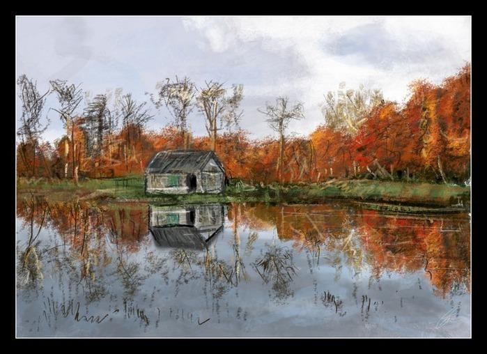 Великолепные пейзажи Джона Мортимера 161