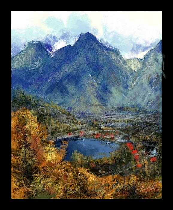 Великолепные пейзажи Джона Мортимера 164