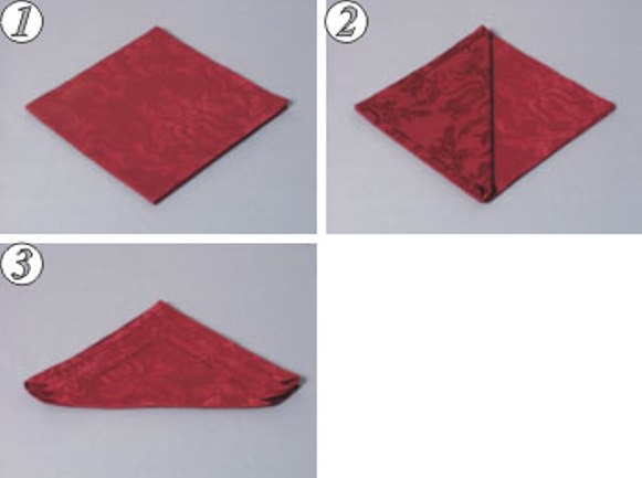 folding tissue tutorial