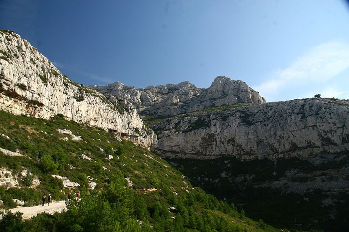 Les Calanques-Каланки - французскии фьорды. Марсель . 90757