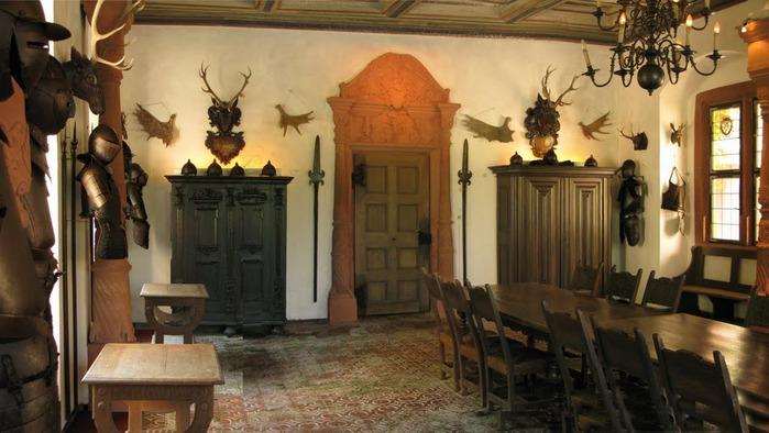 Замок Mespelbrunn. 55471