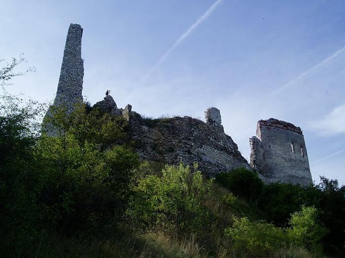 Чахтицкий замок (Cachtice castle) -замок Кровавой Графини. 57246