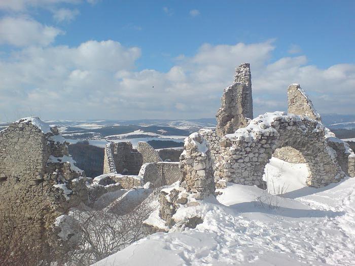 Чахтицкий замок (Cachtice castle) -замок Кровавой Графини. 84913
