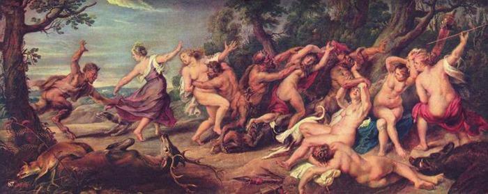 Дионис и оргия