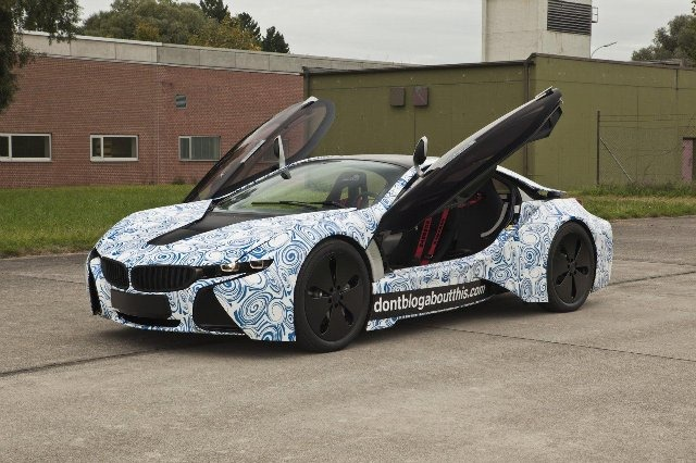 BMW Vision EfficientDynamics под  гжель 9