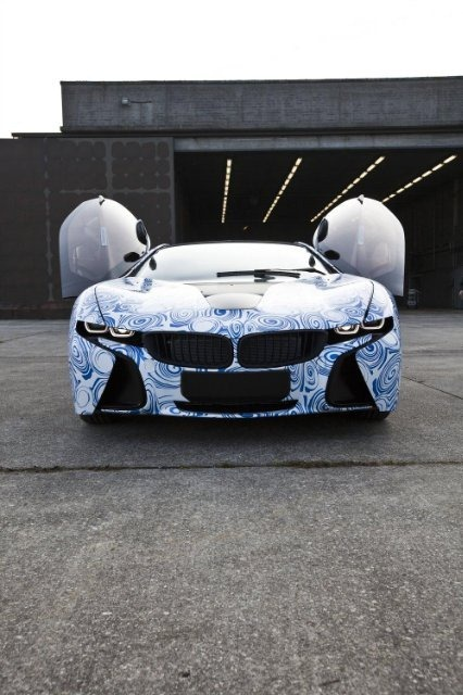 BMW Vision EfficientDynamics под  гжель 1
