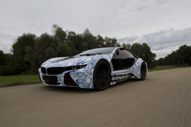 BMW Vision EfficientDynamics под  гжель 2