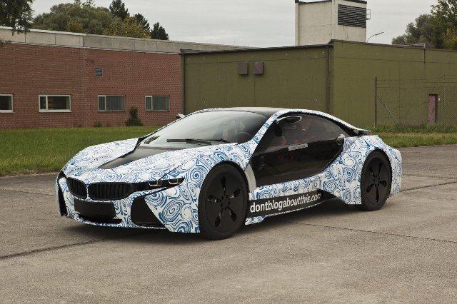 BMW Vision EfficientDynamics под  гжель 7