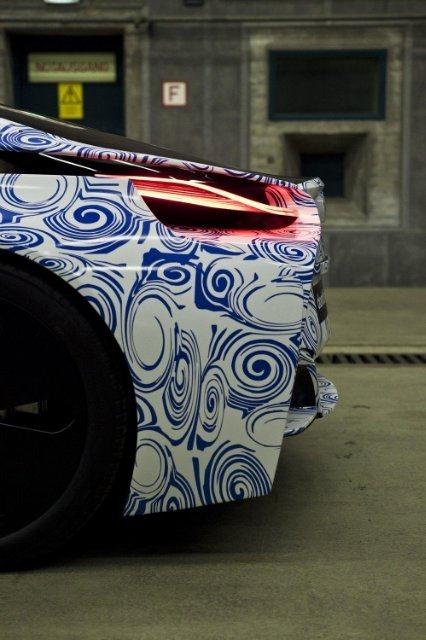 BMW Vision EfficientDynamics под  гжель 10
