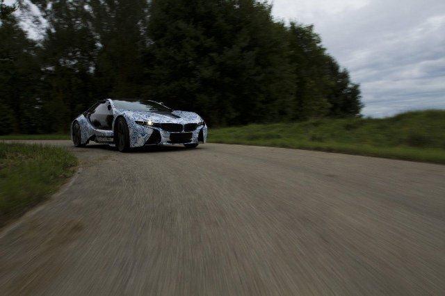 BMW Vision EfficientDynamics под  гжель 11