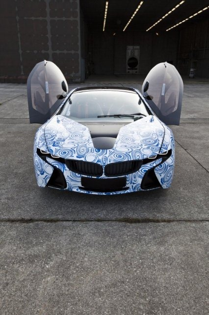 BMW Vision EfficientDynamics под  гжель 18