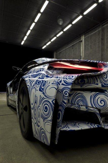 BMW Vision EfficientDynamics под  гжель 23