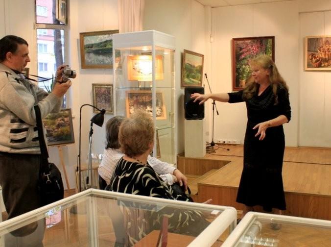 Елена Воронова рассказывает о своих работах