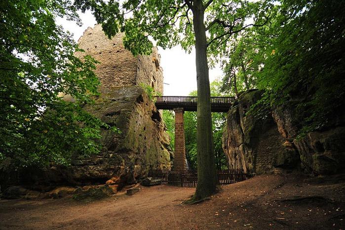 Кокоржин - cредневековый чешский замок 47175