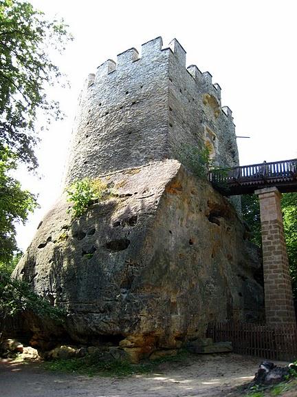 Кокоржин - cредневековый чешский замок 92585