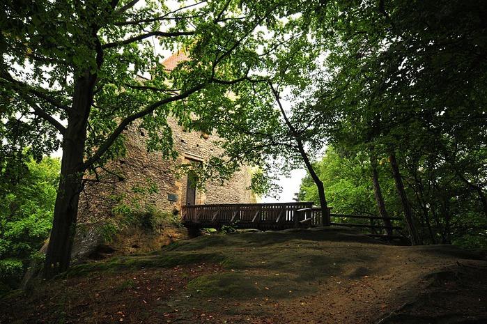 Кокоржин - cредневековый чешский замок 84651