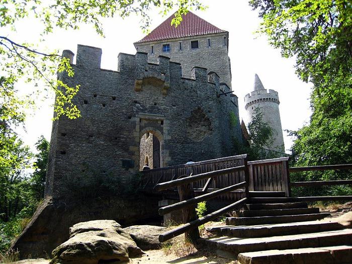 Кокоржин - cредневековый чешский замок 67229