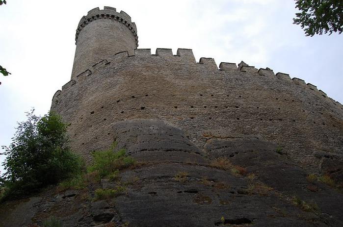 Кокоржин - cредневековый чешский замок 40784