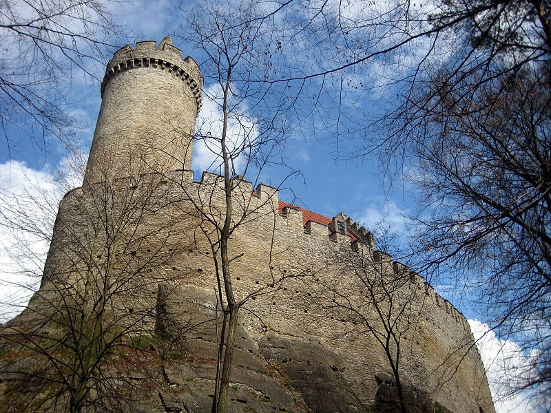 Кокоржин - cредневековый чешский замок 90776