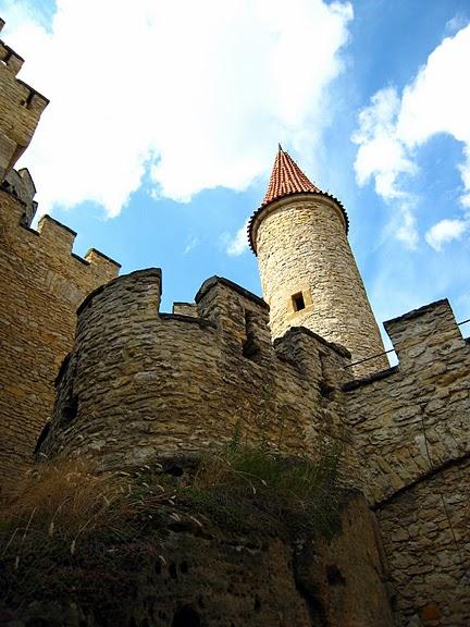 Кокоржин - cредневековый чешский замок 26278