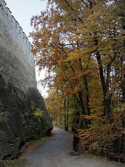 Кокоржин - cредневековый чешский замок 56358