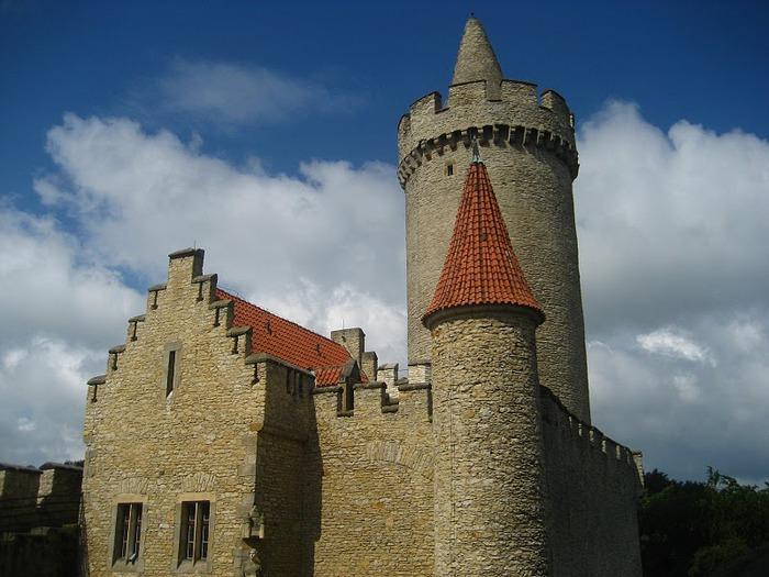 Кокоржин - cредневековый чешский замок 32816