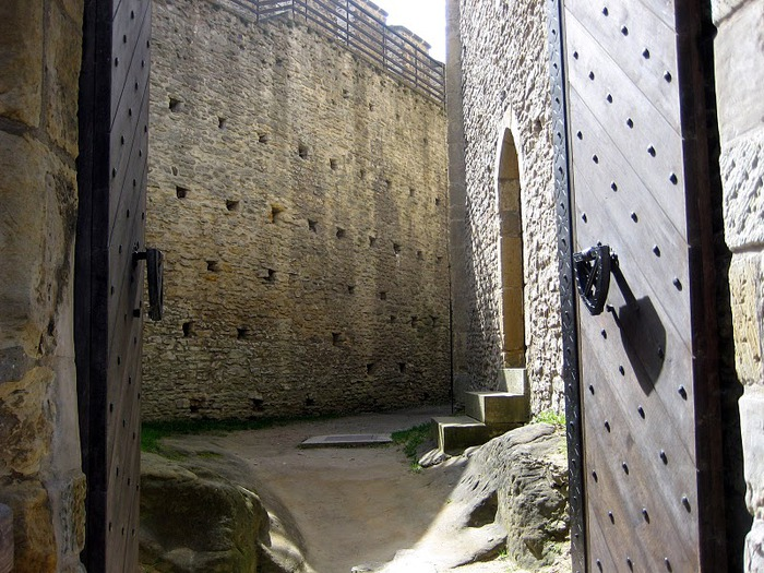 Кокоржин - cредневековый чешский замок 46297