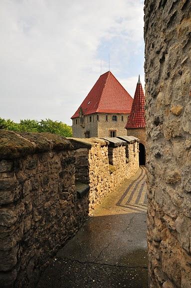 Кокоржин - cредневековый чешский замок 91622