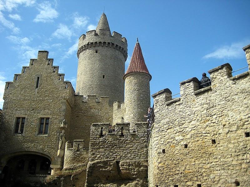 Кокоржин - cредневековый чешский замок 46166