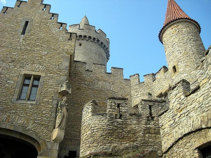 Кокоржин - cредневековый чешский замок 27566