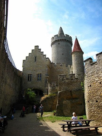 Кокоржин - cредневековый чешский замок 61808