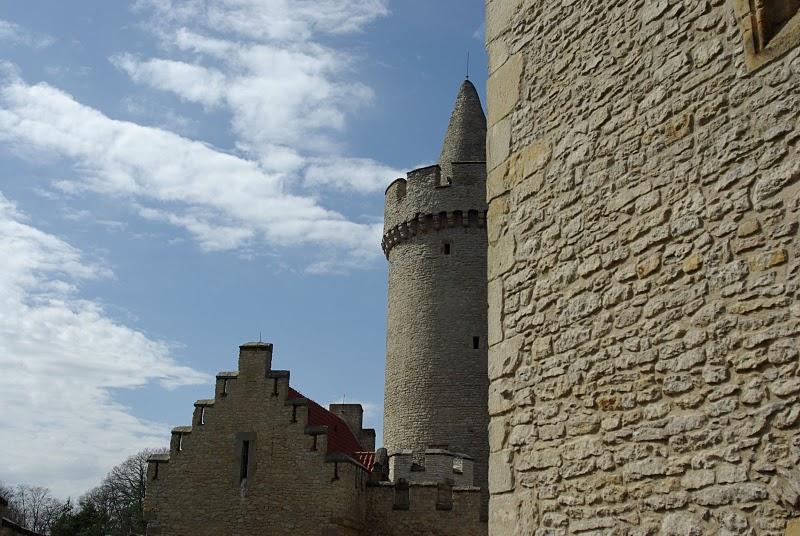 Кокоржин - cредневековый чешский замок 59351