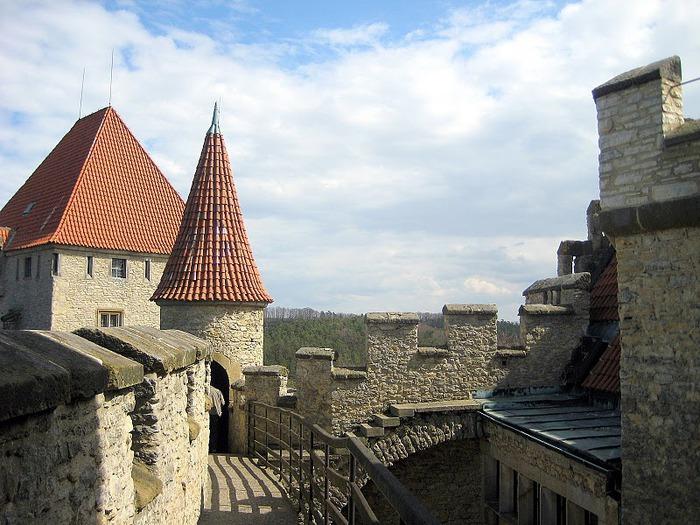 Кокоржин - cредневековый чешский замок 22094