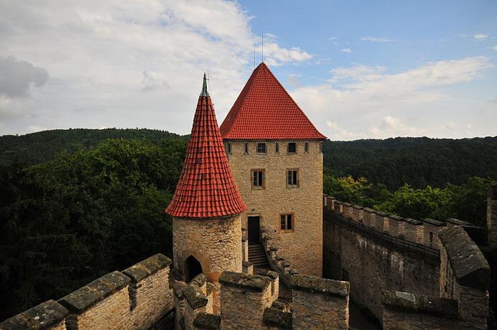 Кокоржин - cредневековый чешский замок 43345