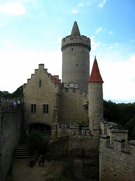 Кокоржин - cредневековый чешский замок 96124