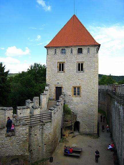 Кокоржин - cредневековый чешский замок 43450