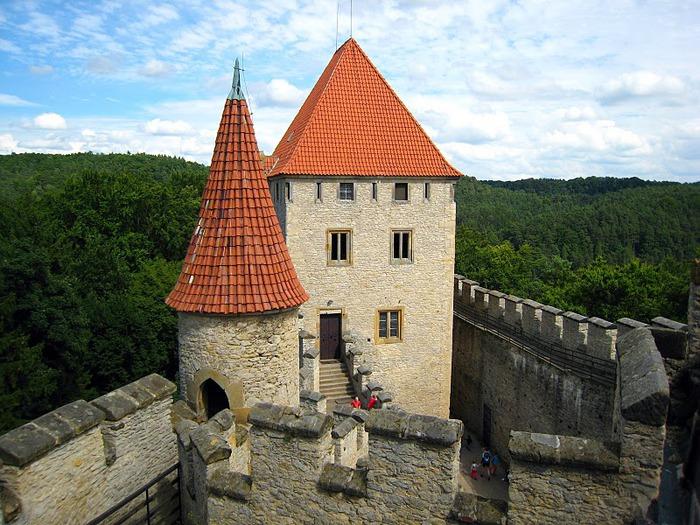 Кокоржин - cредневековый чешский замок 98940