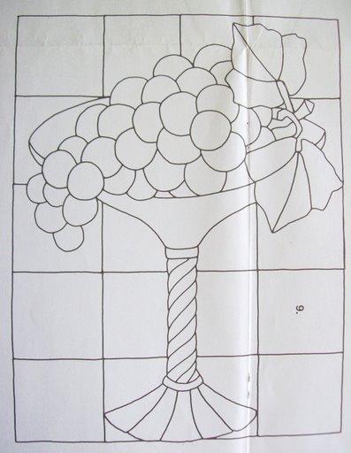 Шаблоны для витражной росписи 16232