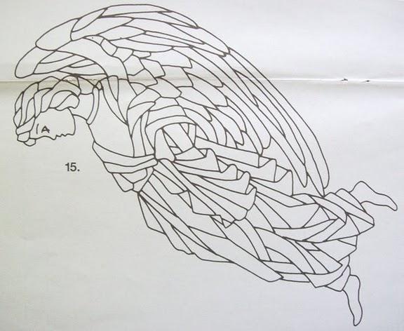 Шаблоны для витражной росписи 55365