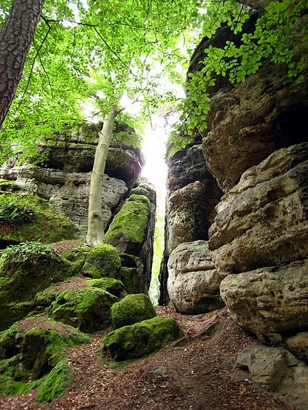 Кокоржин - cредневековый чешский замок 86767