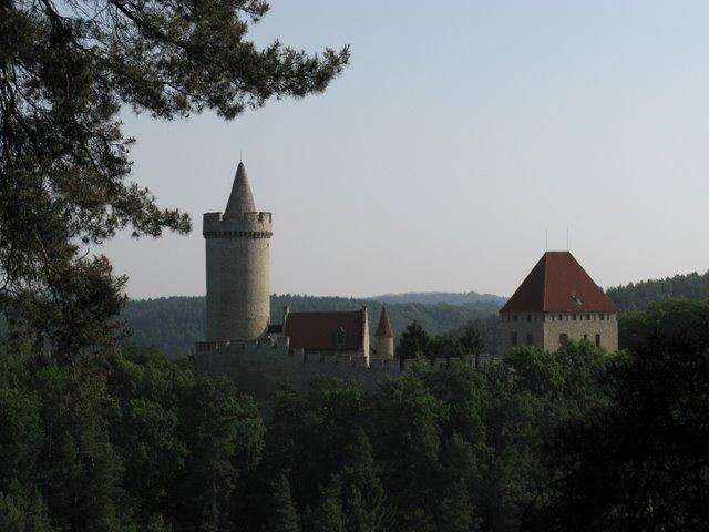 Кокоржин - cредневековый чешский замок 62561