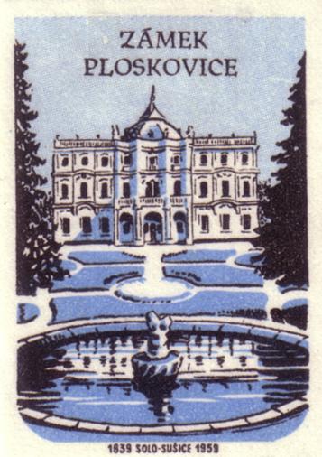 Плосковице (Ploskovice) - замок 16485
